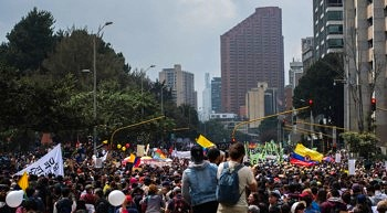 Manifestación Colombia